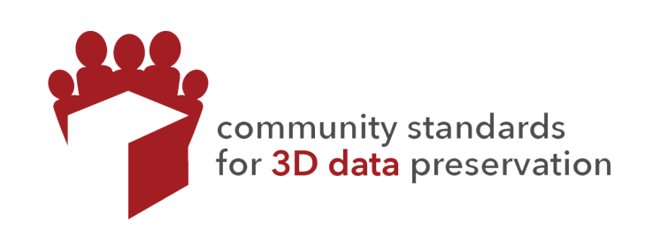 community standards for 3d data preservation logo